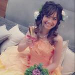 結婚式 大人かわいい ロング ヘアアレンジ