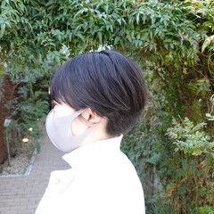 ショートパーマ マッシュショート ショート ショートヘア ヘアスタイルや髪型の写真・画像