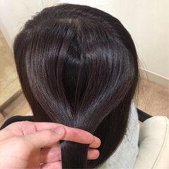 ツヤ ロング 美髪 ヘアケア ヘアスタイルや髪型の写真・画像