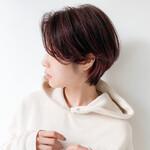 透明感カラー ショートボブ コンパクトショート ショートヘア