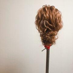 アップ ブライダル 結婚式 ヘアセット ヘアスタイルや髪型の写真・画像