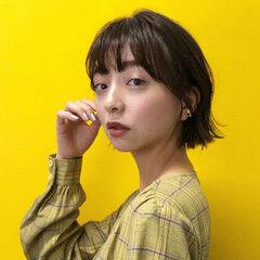 モテ髪 簡単ヘアアレンジ 外ハネボブ 大人かわいい ヘアスタイルや髪型の写真・画像