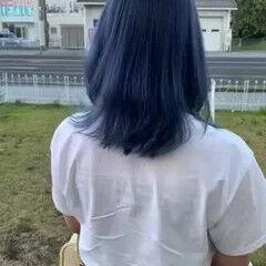 ハイトーンカラー ブリーチ必須 ナチュラル ミディアム ヘアスタイルや髪型の写真・画像