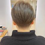 ショートヘア ショート 刈り上げ女子 ナチュラル