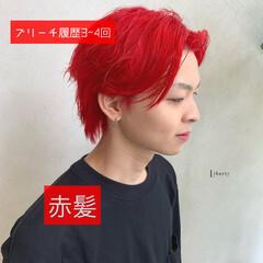 派手髪 ストリート メンズカット メンズカラー ヘアスタイルや髪型の写真・画像