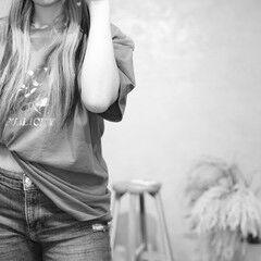モード ロング モデル ヴィーナスコレクション ヘアスタイルや髪型の写真・画像