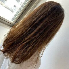 360度どこからみても綺麗なロングヘア ロング 透明感カラー 大人ロング ヘアスタイルや髪型の写真・画像