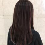 ハイライト ツヤ髪 黒髪 モード