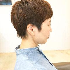 ショート 小顔ショート 川越 ベリーショート ヘアスタイルや髪型の写真・画像