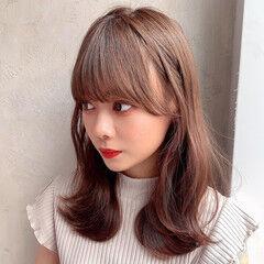 外ハネ レイヤー フェミニン モテ髪 ヘアスタイルや髪型の写真・画像