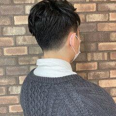 ツーブロック ナチュラル メンズ メンズスタイル ヘアスタイルや髪型の写真・画像