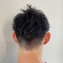 メンズ ストリート ベリーショート メンズカラー ヘアスタイルや髪型の写真・画像
