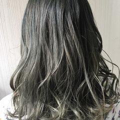 大人かわいい グレージュ 渋谷系 透明感 ヘアスタイルや髪型の写真・画像