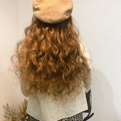 ブライダル ロング ヘアセット フェミニン ヘアスタイルや髪型の写真・画像