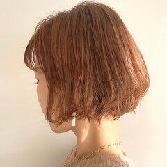 ショートボブ ワンカールパーマ ボブ ミニボブ ヘアスタイルや髪型の写真・画像
