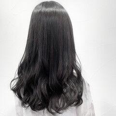 透け感アッシュ 透け感ヘア フェミニン 艶カラー ヘアスタイルや髪型の写真・画像