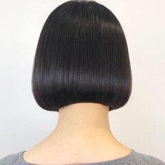 簡単ヘアアレンジ モテボブ ミニボブ モード ヘアスタイルや髪型の写真・画像