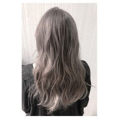 ウェーブ ヘアアレンジ ナチュラル 秋 ヘアスタイルや髪型の写真・画像