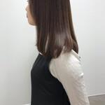福岡市 ツヤ髪 ミディアム 大人カジュアル