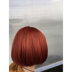 モード ストリート ボブ パンク ヘアスタイルや髪型の写真・画像