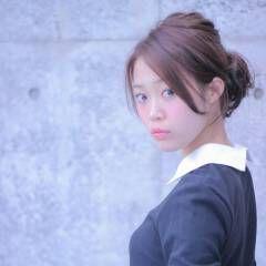 ヘアアレンジ フェミニン 大人かわいい クラシカル ヘアスタイルや髪型の写真・画像