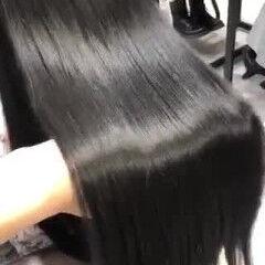 サイエンスアクア ロング 暗髪 大人ロング ヘアスタイルや髪型の写真・画像