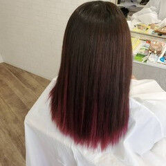 艶髪 ストカール 縮毛矯正名古屋市 縮毛矯正 ヘアスタイルや髪型の写真・画像