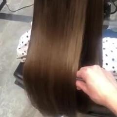 サイエンスアクア ツヤ髪 最新トリートメント 髪質改善トリートメント ヘアスタイルや髪型の写真・画像