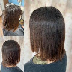 髪エステ 縮毛矯正 ガーリー 髪質改善カラー ヘアスタイルや髪型の写真・画像