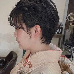 ショートヘア ショートアレンジ ショート ナチュラル ヘアスタイルや髪型の写真・画像