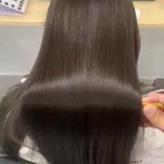 美髪 ロング サラサラ フォギー ヘアスタイルや髪型の写真・画像