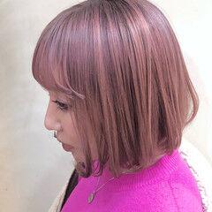 タッセルボブ ナチュラル グラデーションカラー ボブ ヘアスタイルや髪型の写真・画像