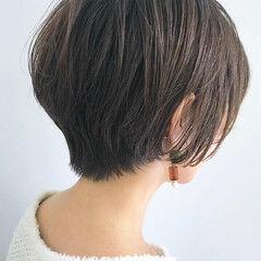 ショート エレガント マッシュMIX マッシュショート ヘアスタイルや髪型の写真・画像