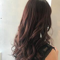 ピンク 愛され フェミニン 結婚式 ヘアスタイルや髪型の写真・画像