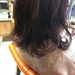 ヘアアレンジ ピンクバイオレット イルミナカラー ピンク ヘアスタイルや髪型の写真・画像