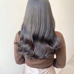 ヨシンモリ 韓国ヘア ナチュラル セミロング ヘアスタイルや髪型の写真・画像