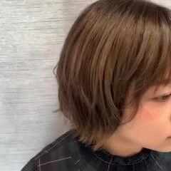 スタイリング動画 前髪あり 圧倒的透明感 おしゃれさんと繋がりたい ヘアスタイルや髪型の写真・画像