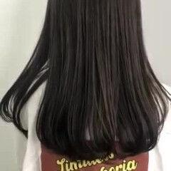 ベージュ ダークアッシュ 暗髪 ブリーチなし ヘアスタイルや髪型の写真・画像
