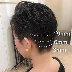 ベリーショート 刈り上げ女子 コンサバ 和装髪型 ヘアスタイルや髪型の写真・画像