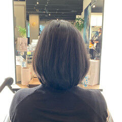 お手入れ簡単!! 内巻き 美シルエット 似合わせカット ヘアスタイルや髪型の写真・画像