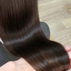 縮毛矯正 ナチュラル 名古屋市守山区 髪質改善 ヘアスタイルや髪型の写真・画像