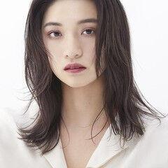 髪質改善カラー フェミニン 髪質改善 透明感カラー ヘアスタイルや髪型の写真・画像