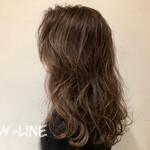 3Dハイライト ナチュラル 髪質改善トリートメント 外国人風