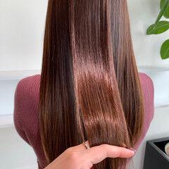 ロング ナチュラル サイエンスアクア 髪質改善トリートメント ヘアスタイルや髪型の写真・画像