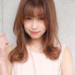 ミディアム アンニュイほつれヘア 大人可愛い 大人かわいい ヘアスタイルや髪型の写真・画像