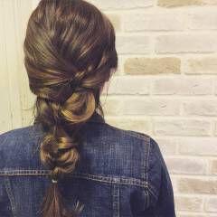 ヘアアレンジ ミディアム ショート まとめ髪 ヘアスタイルや髪型の写真・画像