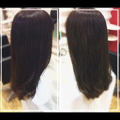社会人の味方 髪質改善カラー パーマ 髪質改善トリートメント ヘアスタイルや髪型の写真・画像