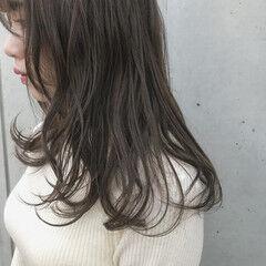 オーガニックアッシュ ナチュラル オーガニックカラー オーガニック ヘアスタイルや髪型の写真・画像