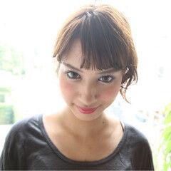 渋谷系 外国人風 ヘアアレンジ ワイドバング ヘアスタイルや髪型の写真・画像