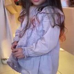 グラデーションカラー ロング ピンク 裾カラー ヘアスタイルや髪型の写真・画像